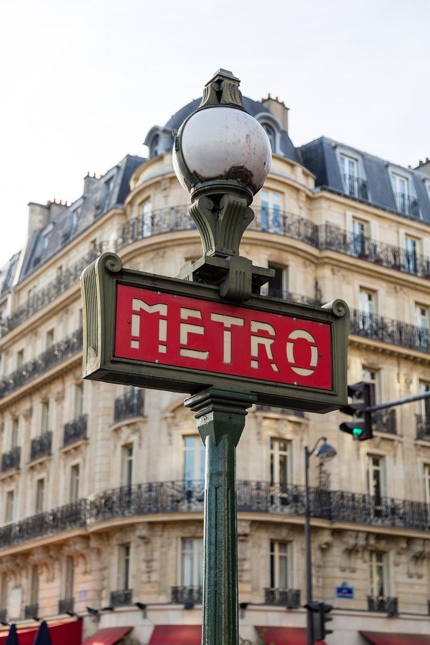 Tunnelbanan i Paris